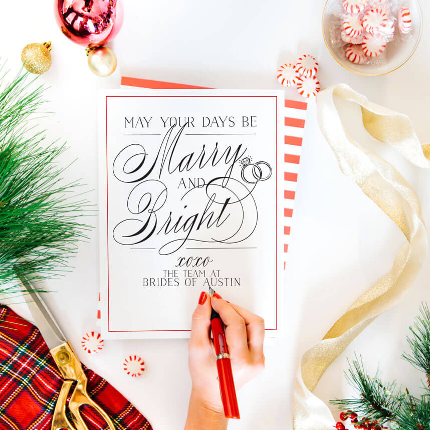 Brides of Austin Wishes You a Happy Holiday Season!