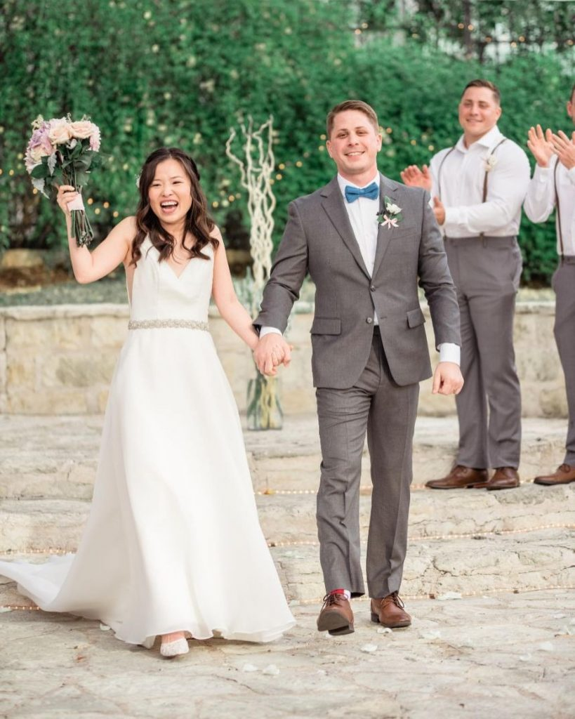 Jin and Ian made promises of forever with a pastel-tinted wedding! The beautiful couple was surrounded by family and friends