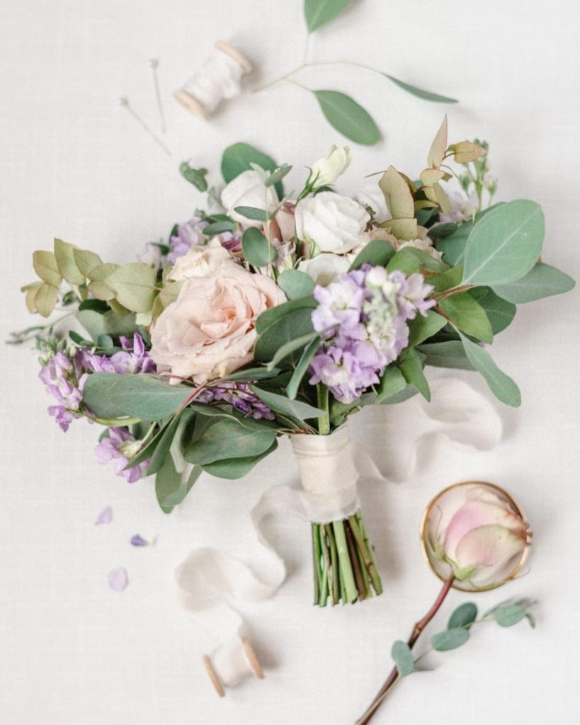 Today we are reminiscing on Lilly + Nathan's lovely lilac wedding! This classically refined affair at themamaison was perfected with