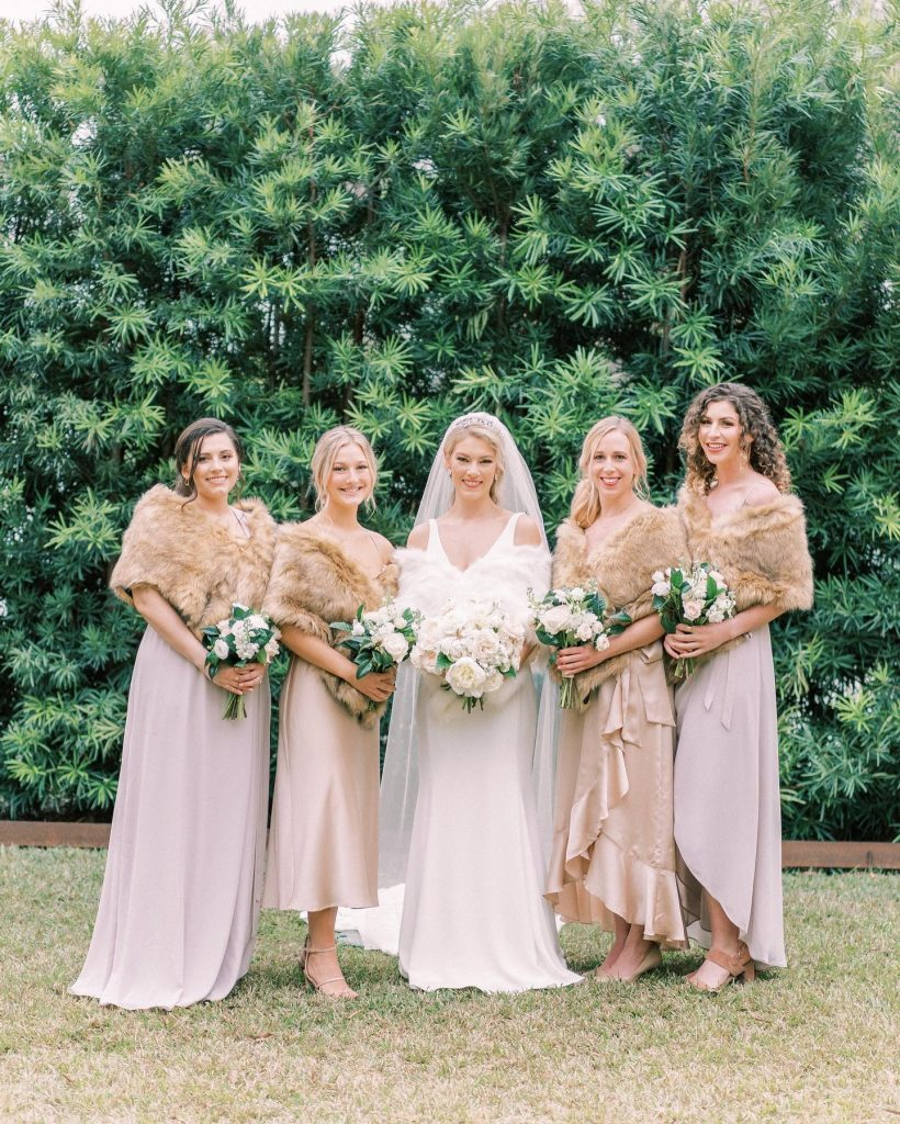 """From the bride: """"My favorite memory was seeing all of our planning come together and then being able to enjoy"""