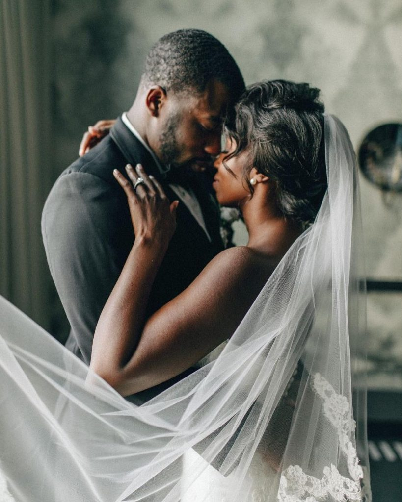 """""""My favorite wedding day memory was dancing into our reception to 'Starboy.' When we entered, the whole room started dancing"""